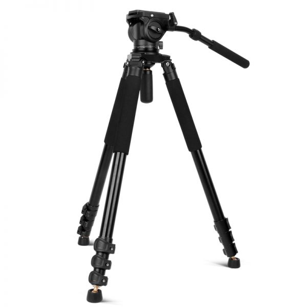 Профессиональный видео штатив Beike Q-680 с головой Beike Q90