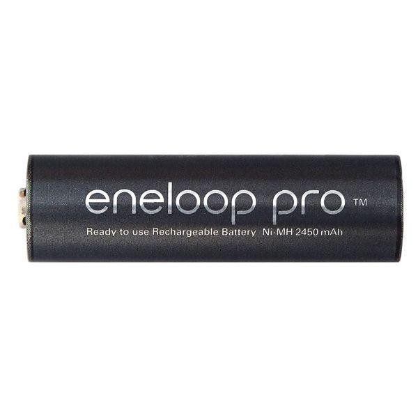 Аккумуляторы Panasonic AA Eneloop Pro min. 2500 mah Ni-MH AA BK-3HCDE/4BE