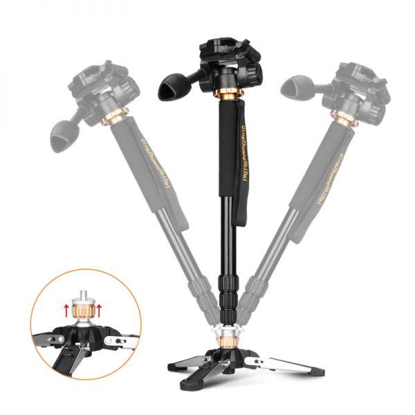 Монопод с ножками Beike Q168 и видео головой Q08S