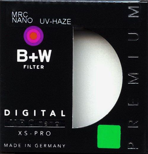 Ультрафиолетовый фильтр B+W  UV-Haze 010 MRC2 nano XS-Pro