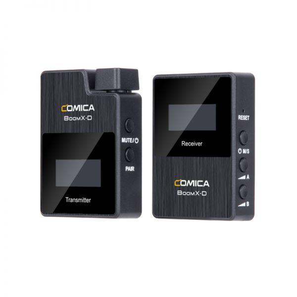 Беспроводной петличный микрофон Comica BoomX-D D1