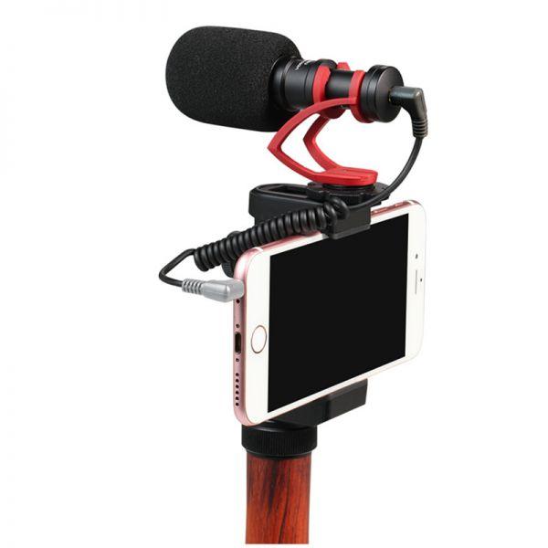 Внешний направленный микрофон Comica CVM-VM10 II