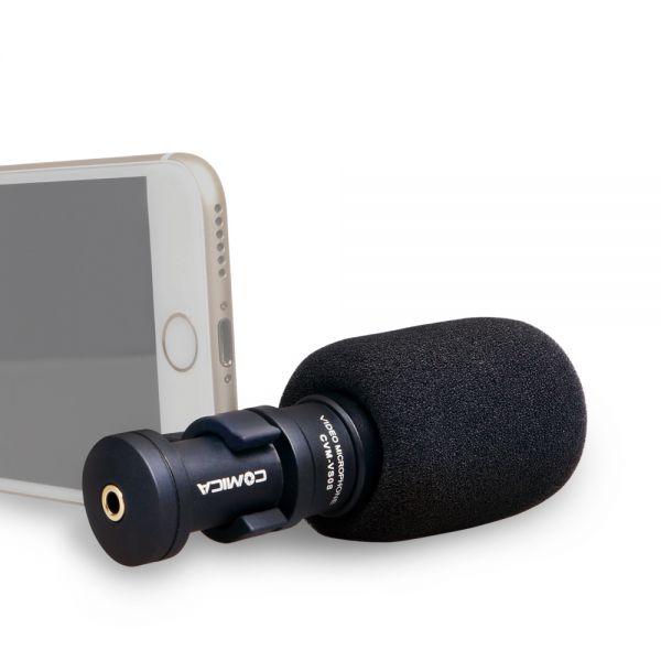 Микрофон для смартфона Comica CVM-VS08