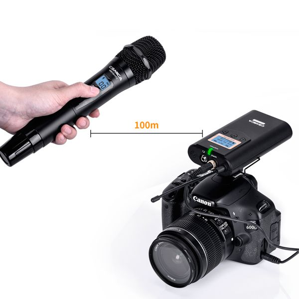 Беспроводной микрофон Comica CVM-WM100 HTX (передатчик)