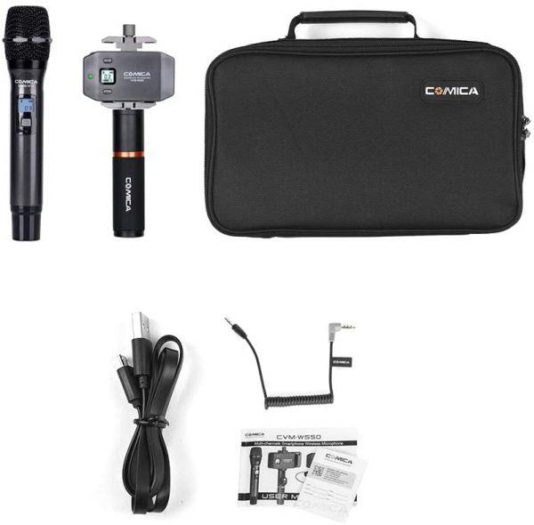Беспроводной петличный микрофон Comica CVM-WS50(H)