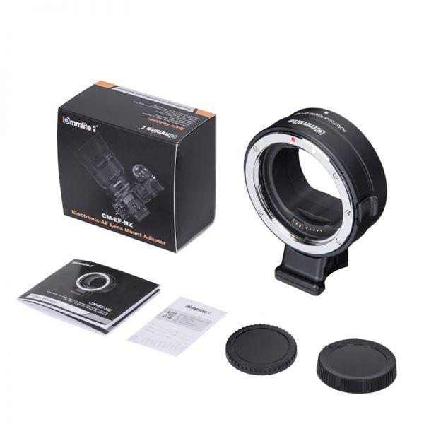 Переходное кольцо Canon EF - Nikon Z AF Pro (Commlite CM-EF-NZ)