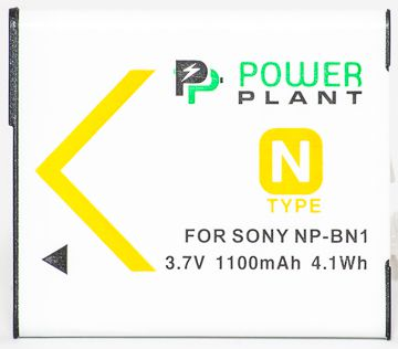 Аккумулятор Sony NP-BN1 (Powerplant)