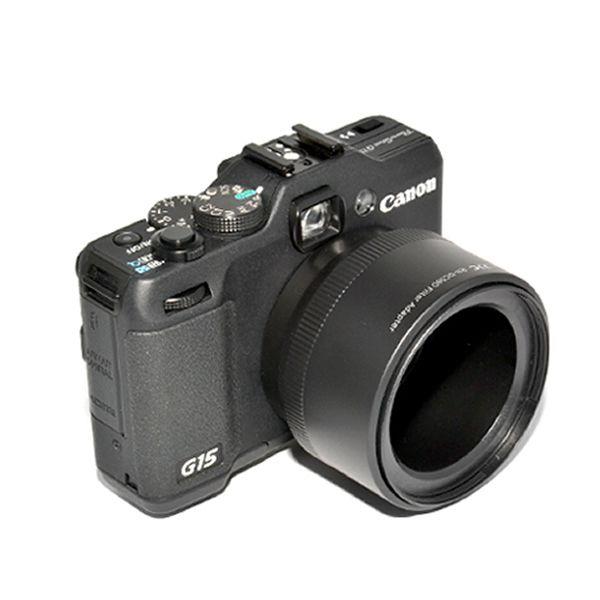 Адаптер для установки  фильтра Canon FA-DC58D (JJC RN-DC58D)