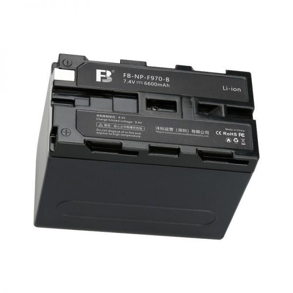 Аккумулятор FB Tech NP-F970 6600 мАч