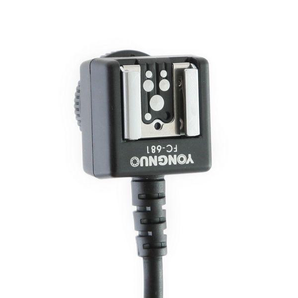 TTL-кабель Yongnuo FC-681 (DUO-TTL, для Canon)