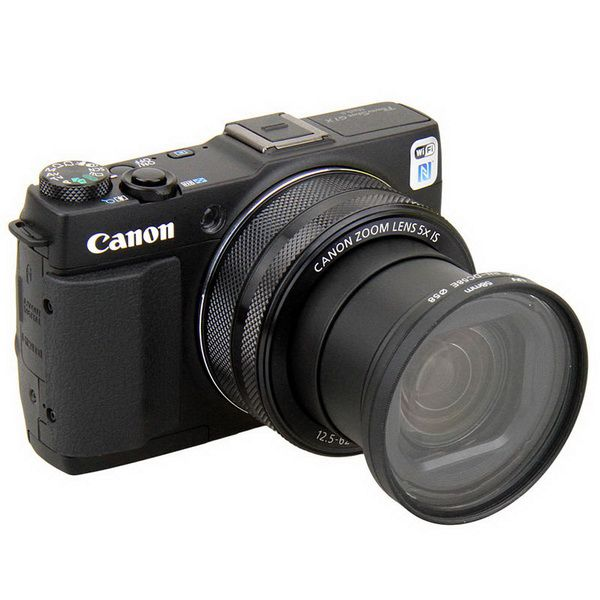 Адаптер для установки фильтра на Canon PowerShot G1X mark II