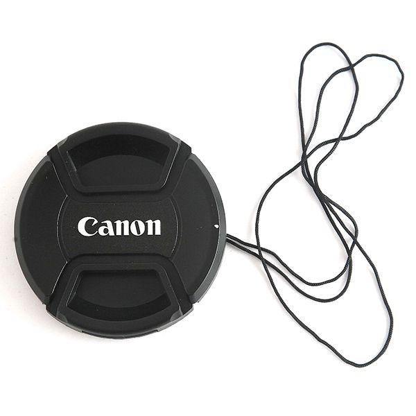 Крышка объектива с логотипом Canon со шнурком