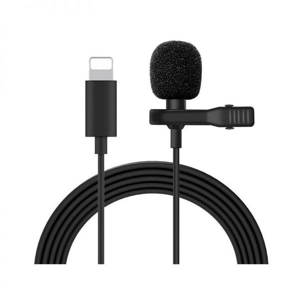 Петличный микрофон Mcoplus LVD200 (Lightning, кабель 1.5 метра)