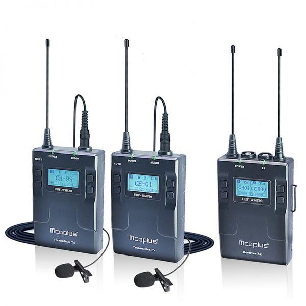 Беспроводная радиосистема Mcoplus UHF-WMU99 Set B с двумя передатчиками