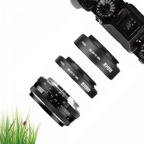 Автофокусные удлинительные кольца Meike MK-S-AF3B Sony E Full Frame
