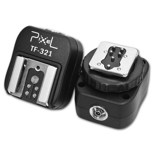 Адаптер горячего башмака Pixel TF-321 сквозной TTL Canon