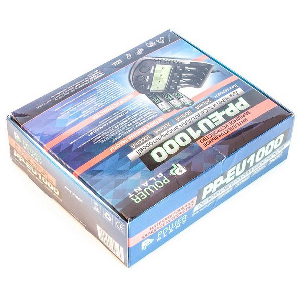 Зарядное устройство PowerPlant PP-EU1000 для аккумуляторов AA, AAA