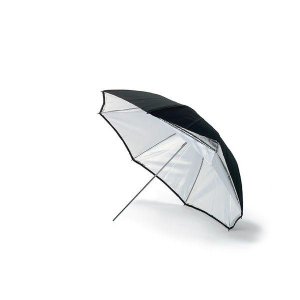 Зонт на просвет и отражение Weifeng UR-05 Black-White 2 в 1