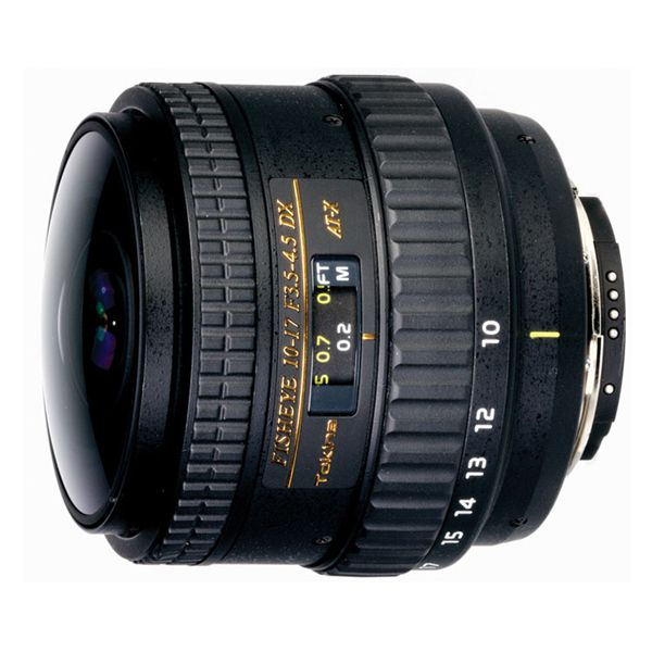 Объектив Tokina AT-X DX NH 10-17mm f/3.5-4.5 Fish-eye