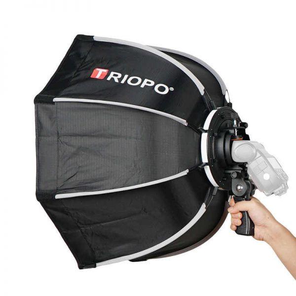 Софтбокс октобокс Triopo 90 см для накамерной вспышки (Triopo KX90)