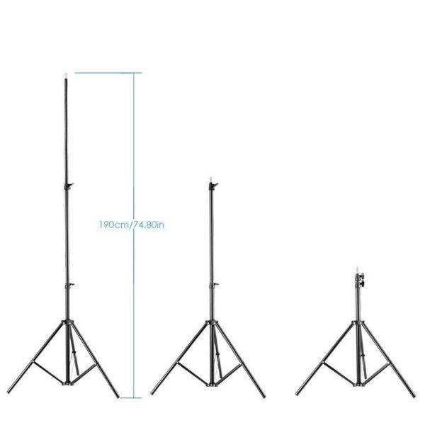 Студийная стойка Visico LS-8003-M 1,9 метра с чехлом