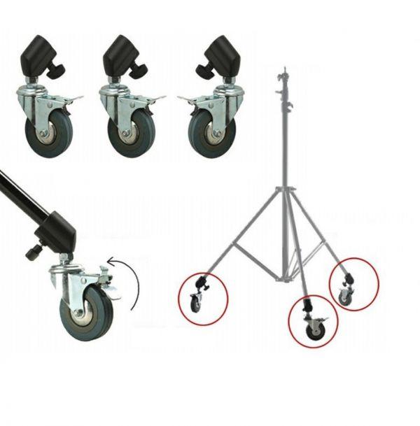 Колёса Visico M11-036A (22-25см) для стоек и журавлей