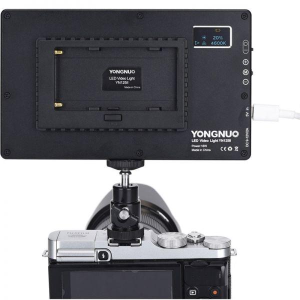 LED-свет Yongnuo YN125II 3200-5600K