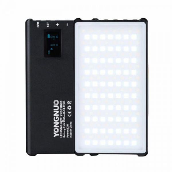 Компактный LED RGB-осветитель Yongnuo YN365 RGB
