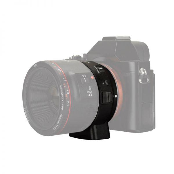 Переходное кольцо Canon EF - Sony E-mount (Yongnuo EF-E II)
