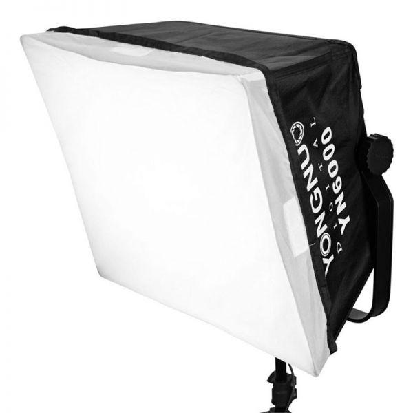 LED осветитель Yongnuo YN6000 5600K Kit с софтбоксом и пультом управления