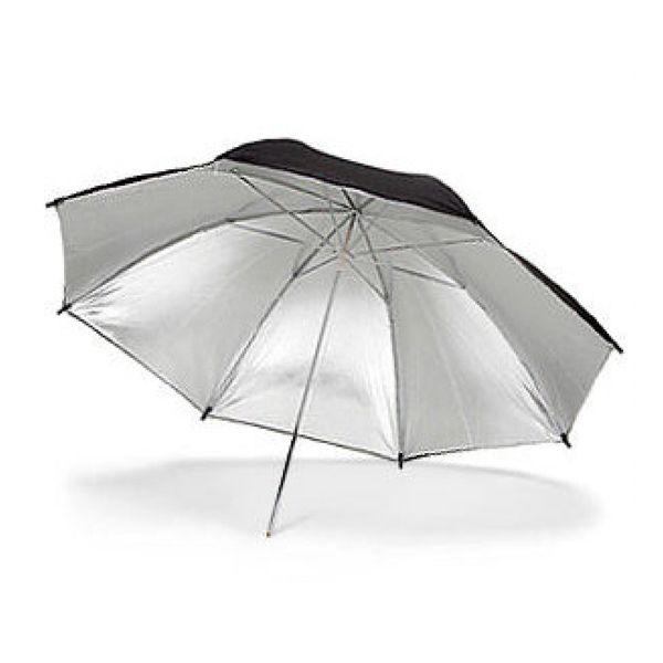 Зонт на отражение Weifeng Black-Silver